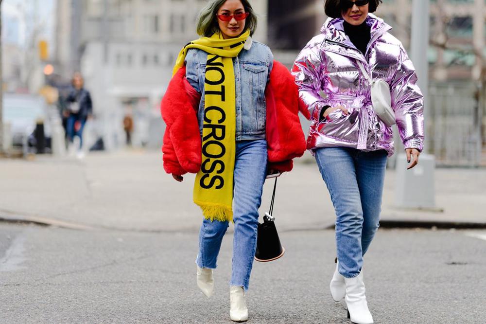 Ruas de Nova Iorque trazem anos 80 em tons de lavanda como tendência